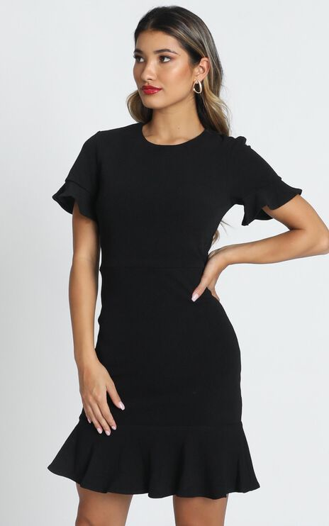 Authority Dress In Black