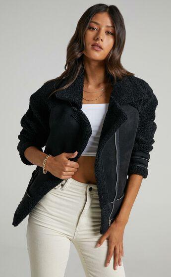 Abriana Coat in Black