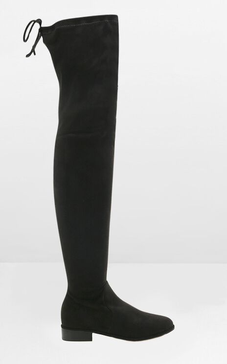 Billini - Tinsley Boots In Black Micro