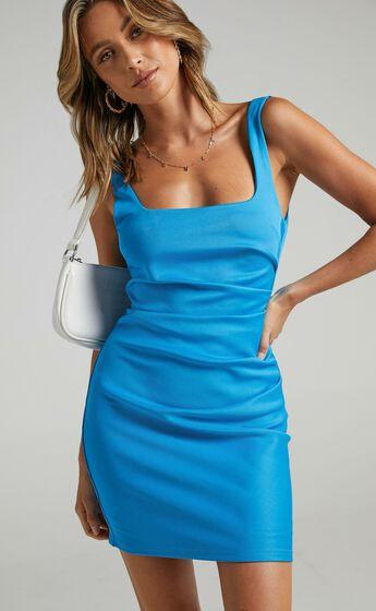 Big Love Dress in Electric Blue