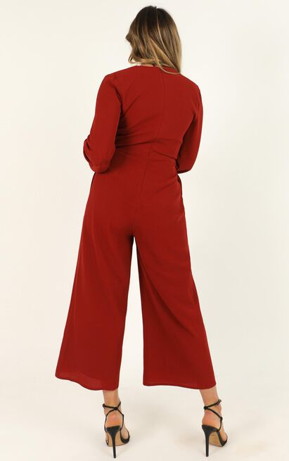 More And More Jumpsuit in rust - 20 (XXXXL), Rust, hi-res image number null