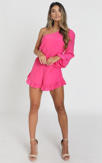 Ithaca playsuit in pink - 8 (S), Pink, hi-res image number null