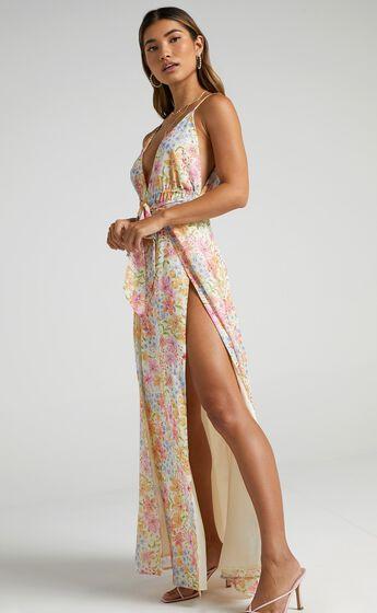 Imia Dress in Multi Floral