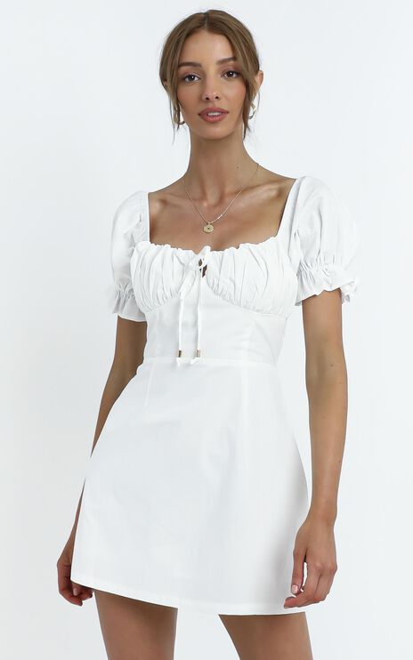 Marisa Dress in White
