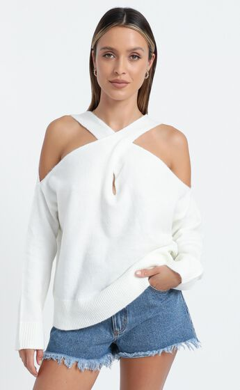 Ellis Knit in White