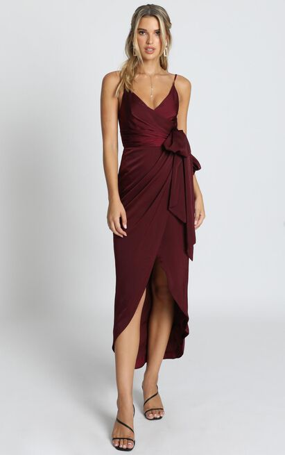 How Will I Know Dress in wine - 20 (XXXXL), Wine, hi-res image number null