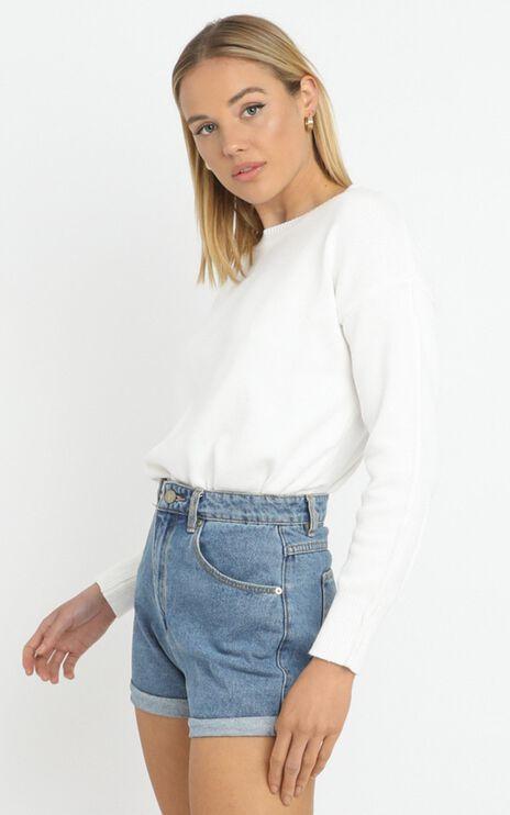 Arcadia Knit in White