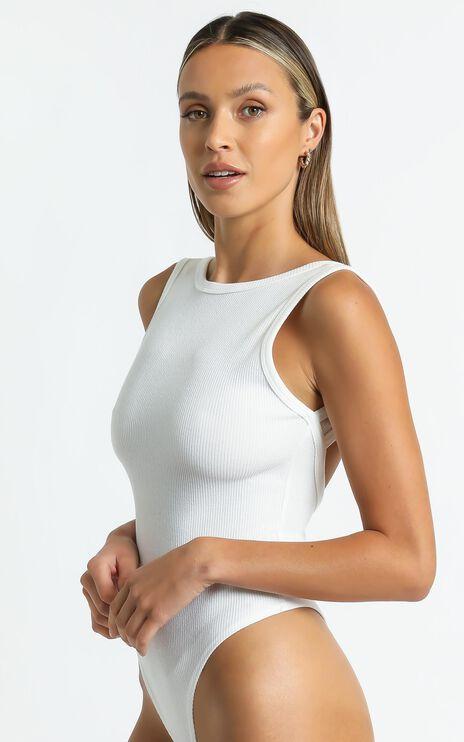 Verena Bodysuit in White