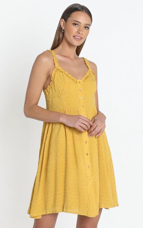Rosanna Dress in Mustard