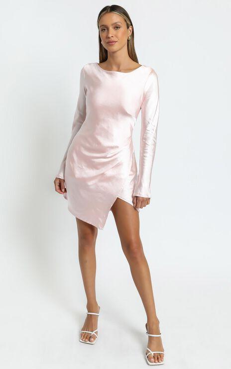 Sistine Dress in Pale Pink