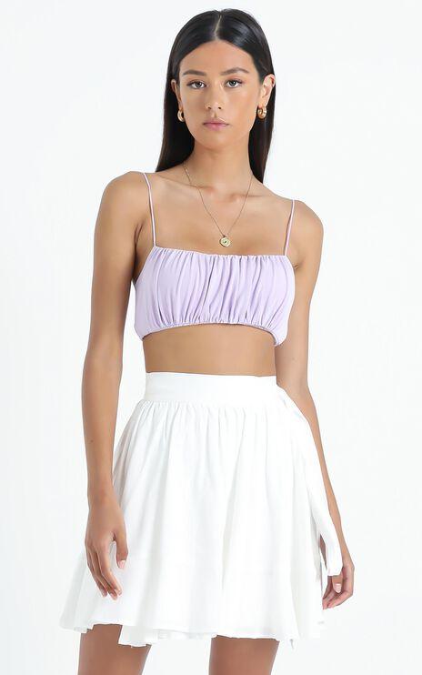 Eimear Skirt in White