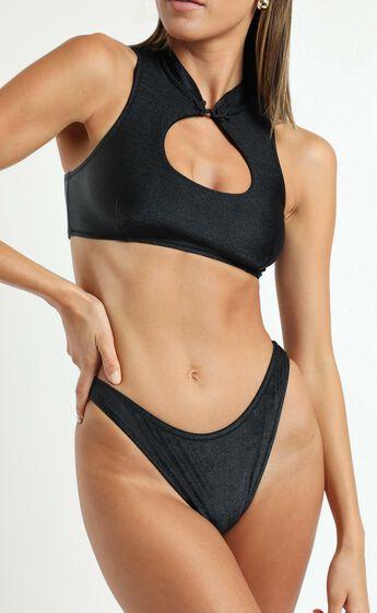 Twiin Swim - Kokomo Scoop Bottoms in Black