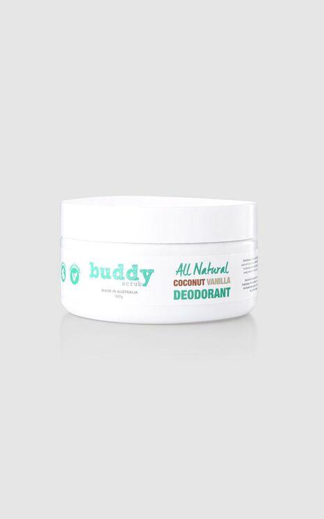 Buddy Scrub - Natural Deodorant in Coconut & Vanilla