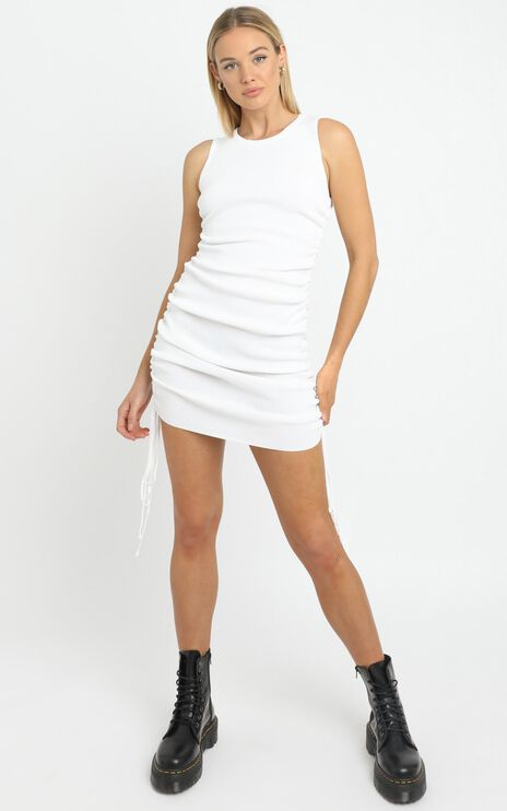 Lioness - Military Minds dress in White