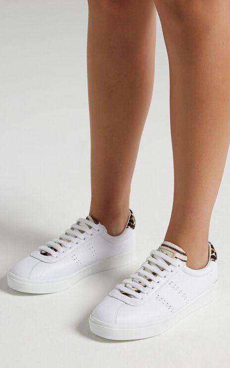 Superga - 2843 ClubS Comflea Ponyhair Sneaker in white - leo zebra