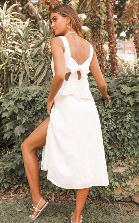 Circus Show Dress In White