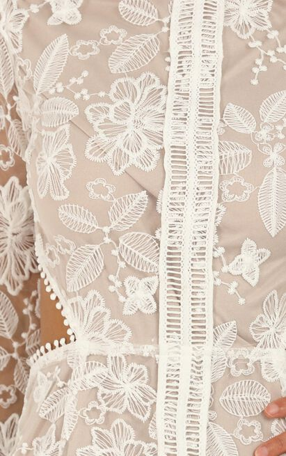 My Embrace Dress In Cream Lace - 16 (XXL), Cream, hi-res image number null