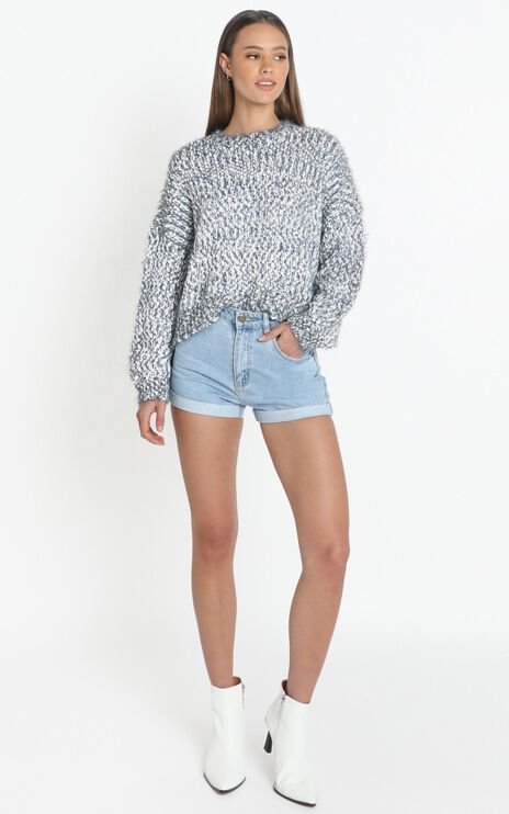 Gwyneth Jumper in Grey Marle