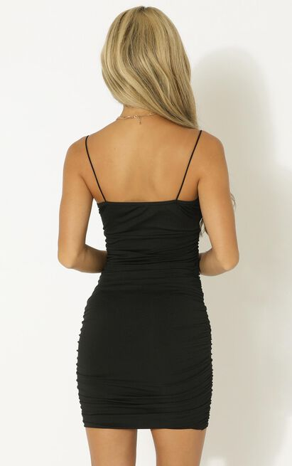 Don't Rush It dress in black - 12 (L), Black, hi-res image number null