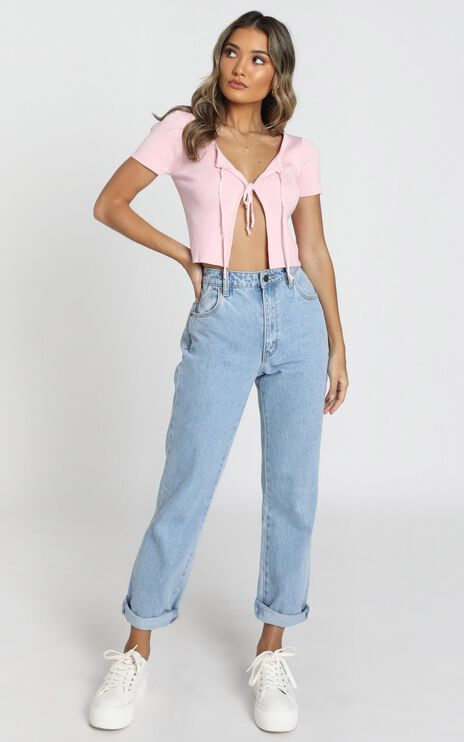 Thinking Aloud Top In Pink