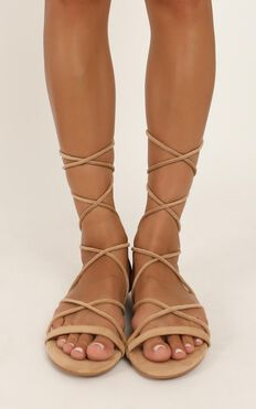Billini - Dhana Sandals In Camel Micro
