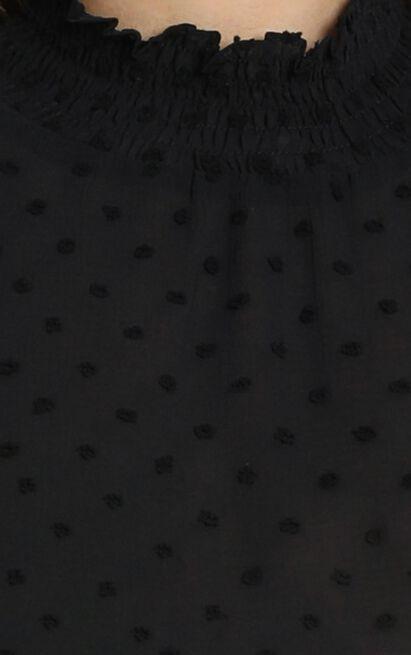Delilah Top in black - 6 (XS), Black, hi-res image number null