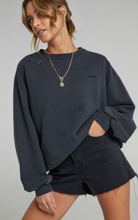 Levis - Melrose Slouchy Jumper in Caviar