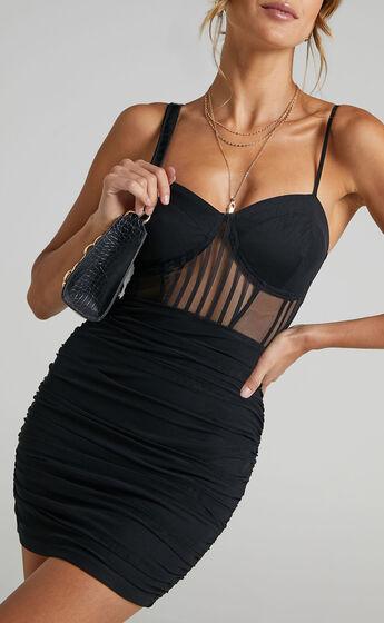 Tiyarna Dress in Black