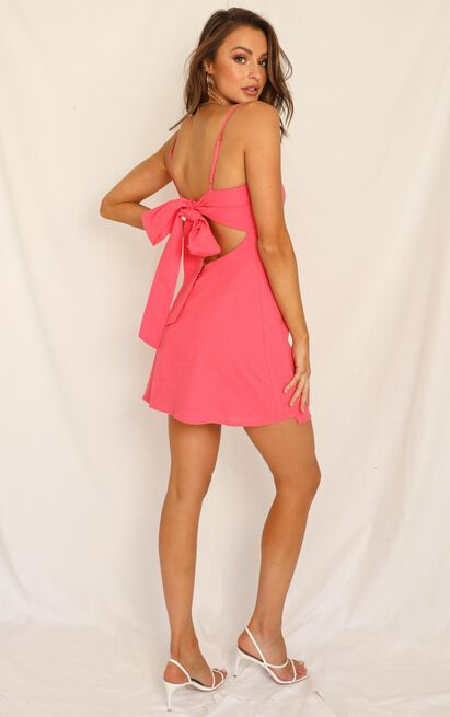 Head Spinning Dress in watermelon - 20 (XXXXL), Pink, hi-res image number null