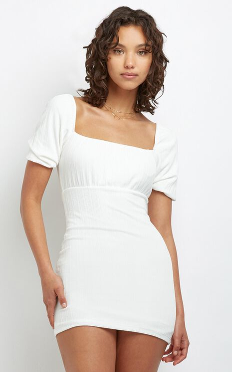 Shani Dress in White