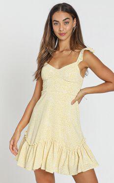 Vivi Dress In Yellow