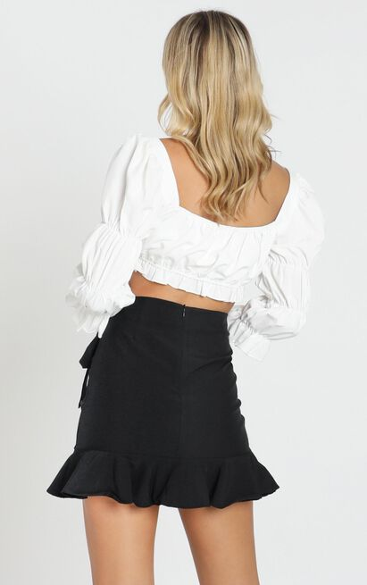 Over and Under Skirt in black - 20 (XXXXL), Black, hi-res image number null