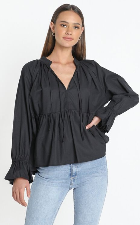 Magee Top in Black