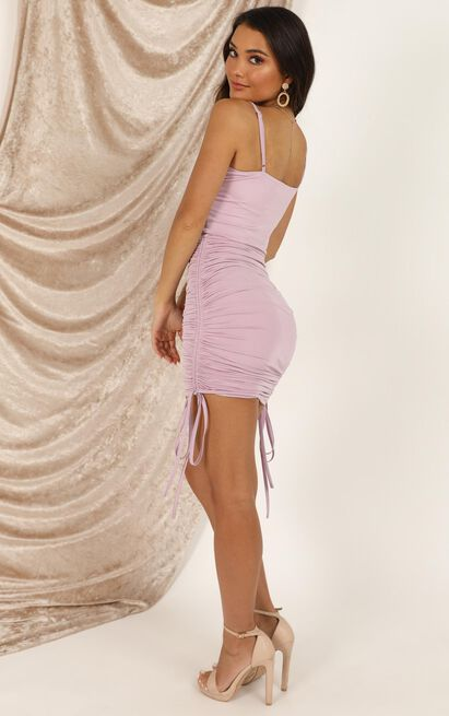Ran Away With Your Heart Dress In lilac - 20 (XXXXL), Purple, hi-res image number null