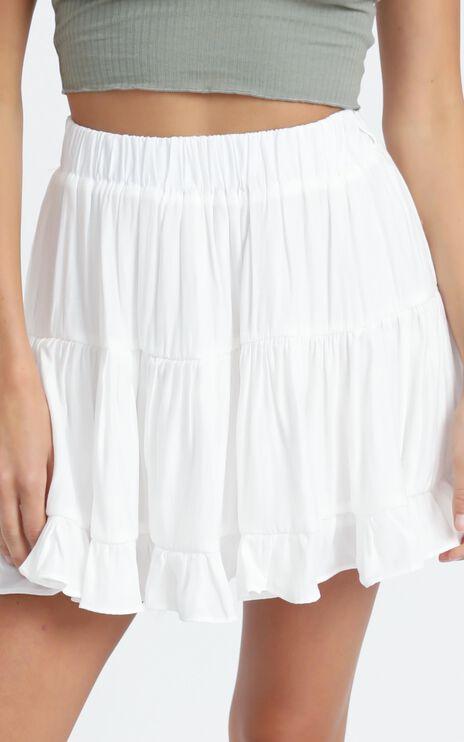 Laurissa Skirt in White