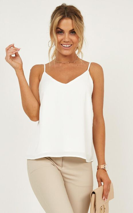 Merger Top In White