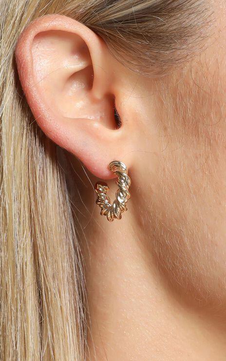 Epsen Earrings in Gold
