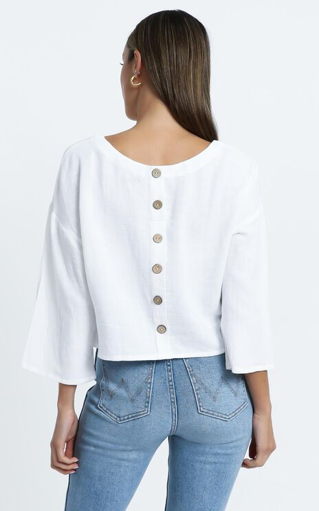 Analeigh Top in White