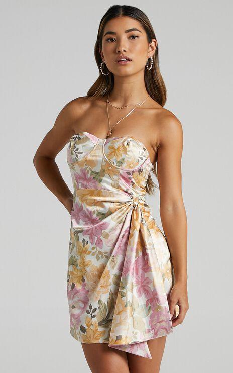 Virtus Dress in Elegant Rose