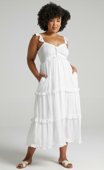 Good For The Soul Dress in White