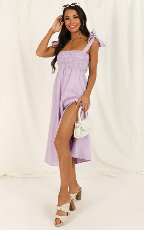 Untamed Dress In Lilac