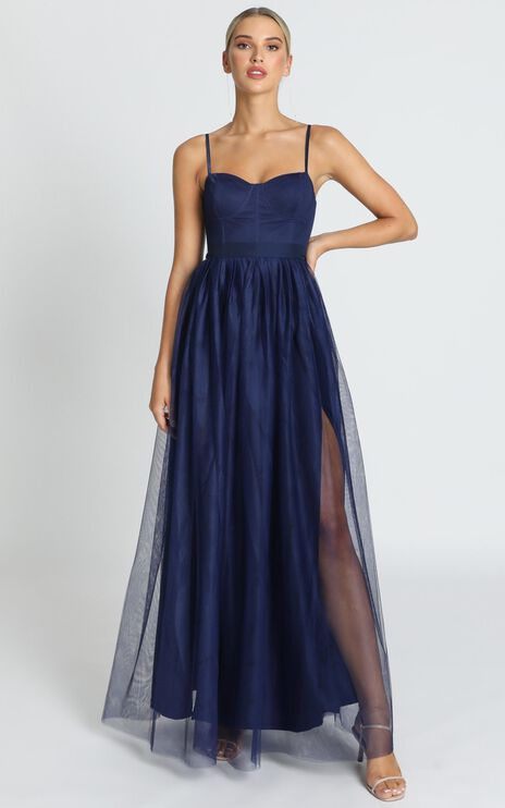 At The Altar Dress In Navy