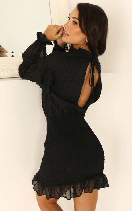 Dreaming About It Dress In Black