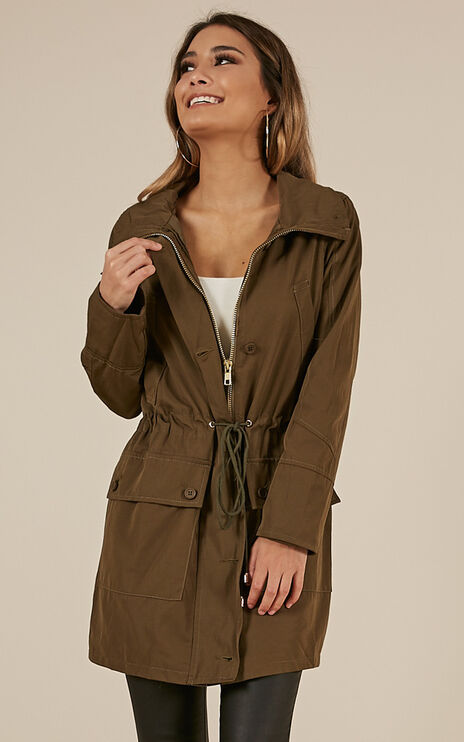 Ice Stormer Jacket In Khaki