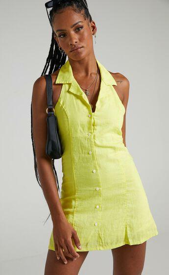 Cools Club - Miami Dress in Yellow