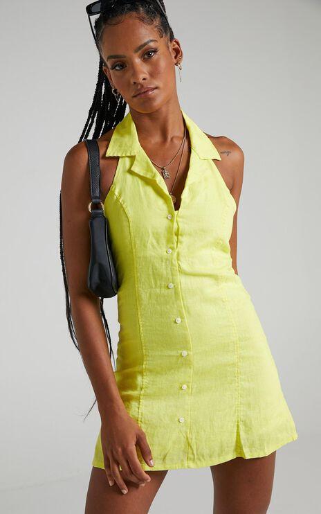 Cools Club - Miami Dress in Lemon