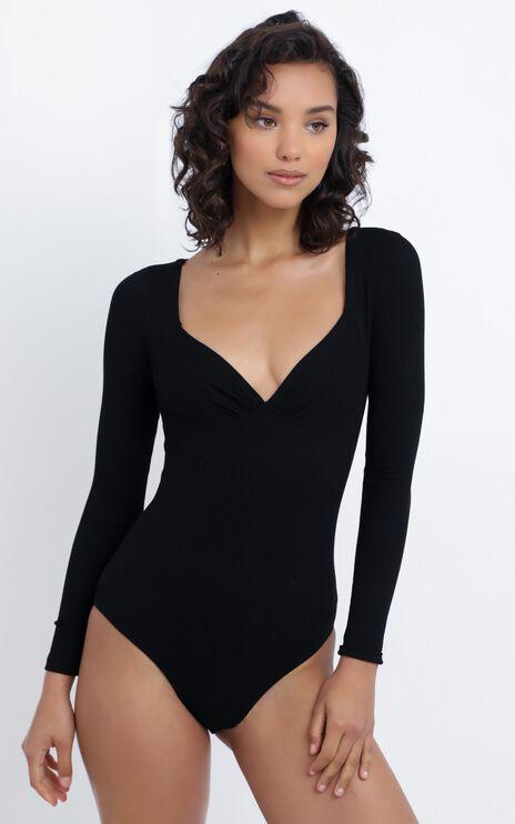 Katharina Bodysuit in Black