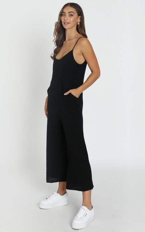 Perfect Day Jumpsuit in Black