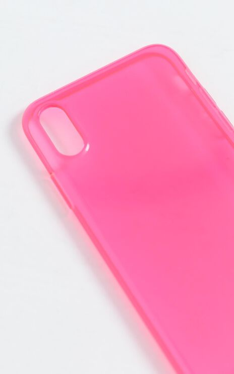 Fluro iPhone Case in Pink
