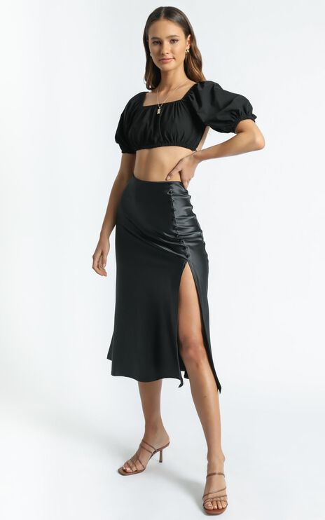 Maritza Skirt in Black